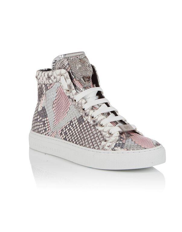 """Hi-Top Sneakers """"Rose star"""""""