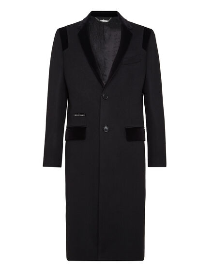 Coat Long Space Plein