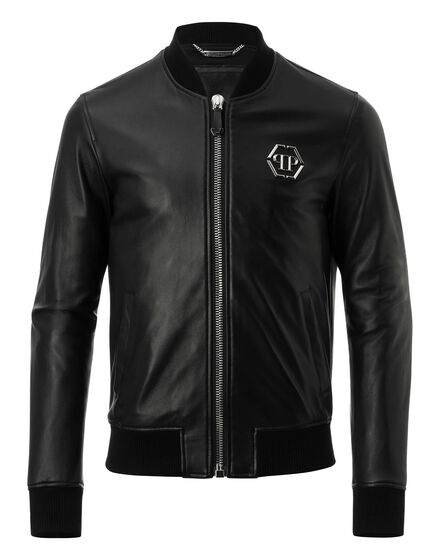 Leather Bomber Yoanne