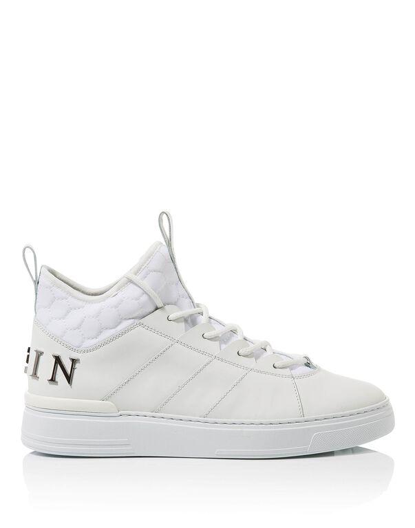 "Hi-Top Sneakers ""Cielo"""
