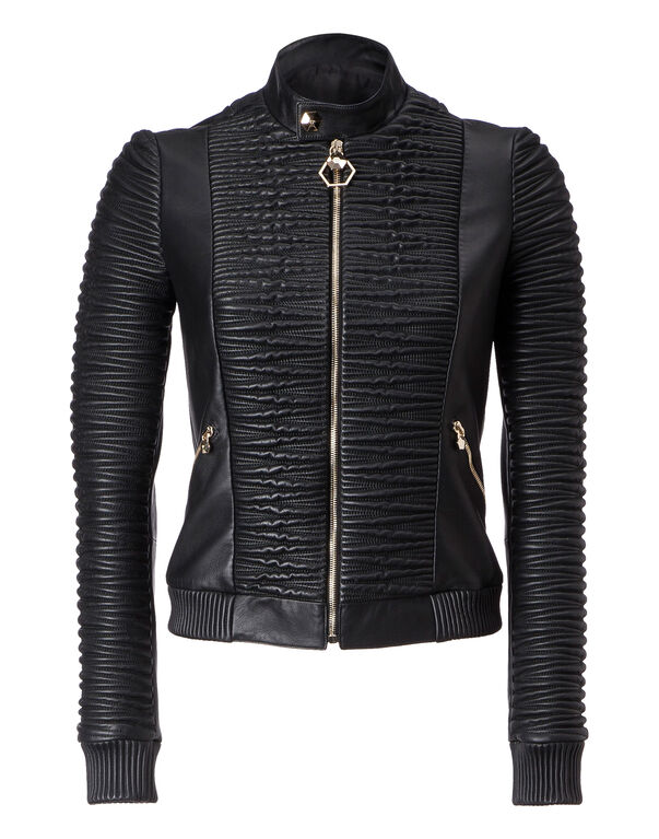 "Leather Bomber ""Broadway"""