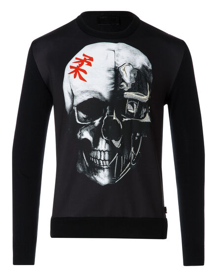 Sweatshirt LS Japan skull