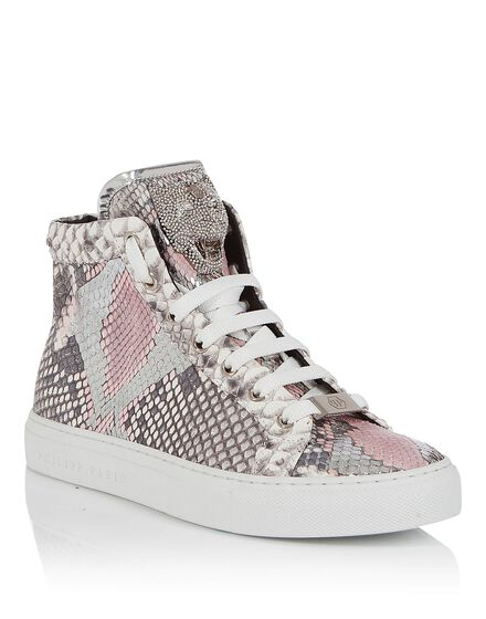 Hi-Top Sneakers Rose star