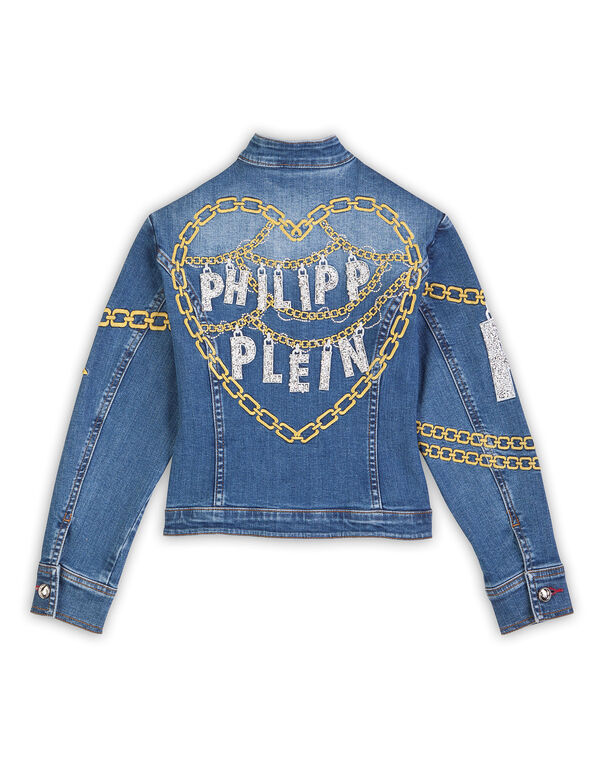 "Denim jacket ""Bling"""