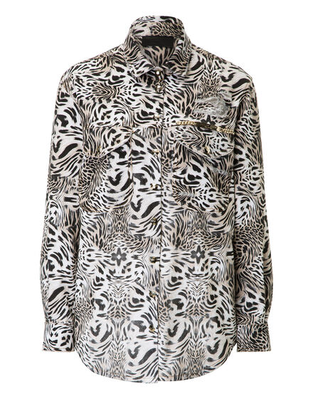 Denim Shirt Ls Dragonite