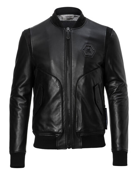 Leather Bomber James