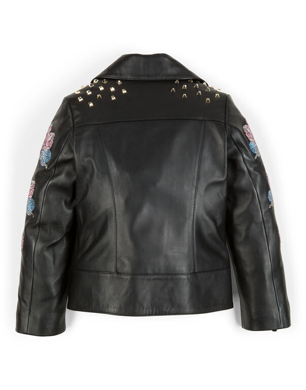 "leather jacket ""jasmine"""