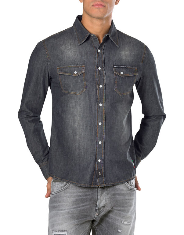 """denim shirt long sleeves """"Laguna"""""""