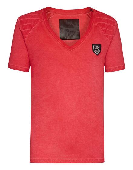 T-shirt V-Neck SS Raglan