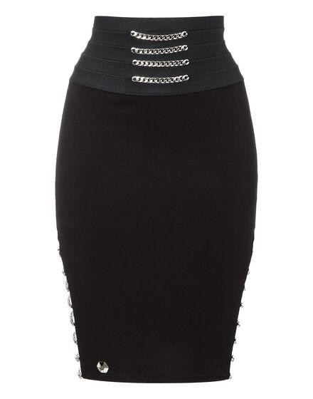 Short Skirt Muticolour Chains