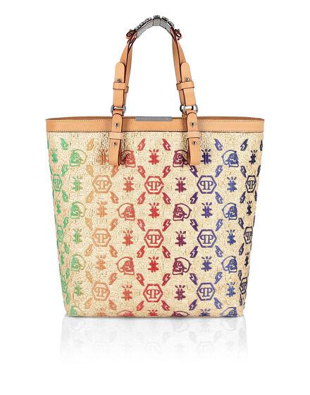 Handle bag Embroidery Monogram