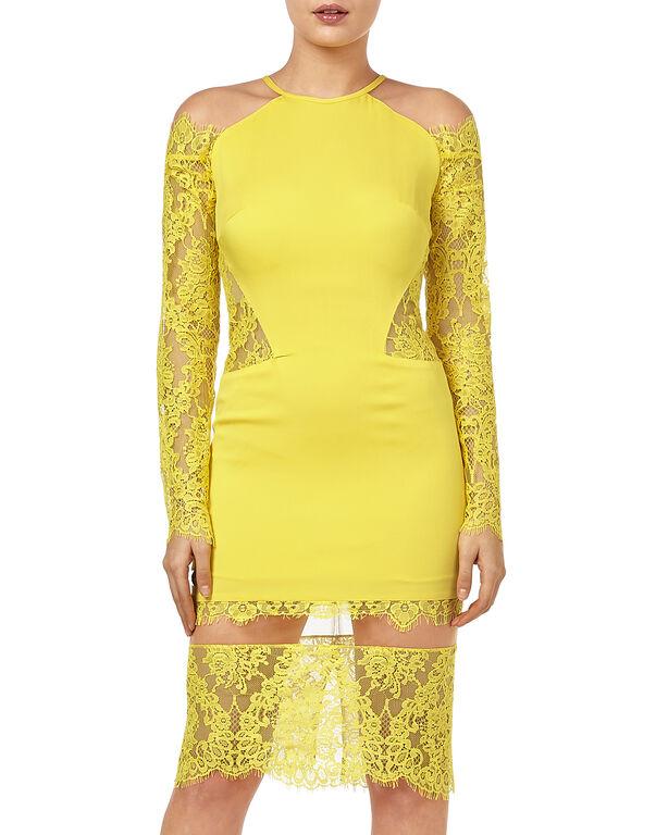 """Short Dress """"Laced Lack"""""""
