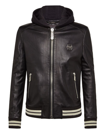 Leather Bomber Aggressive