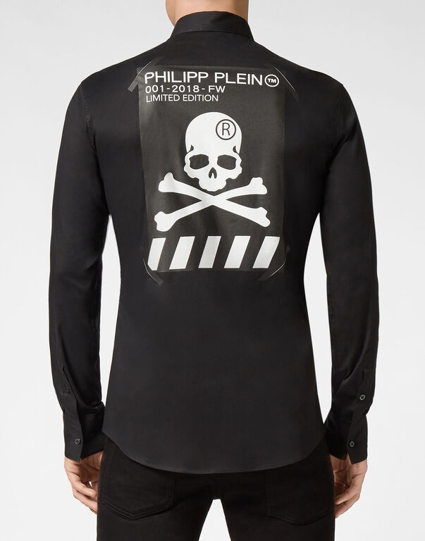 Shirt Platinum Cut LS Skull