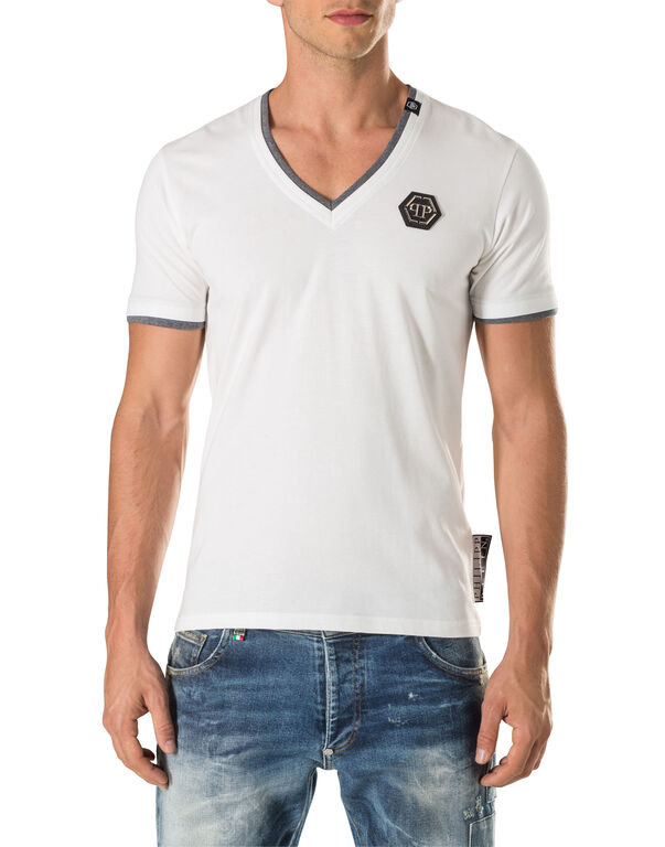 new products 5bcc9 2e083 T-shirt V-Neck SS