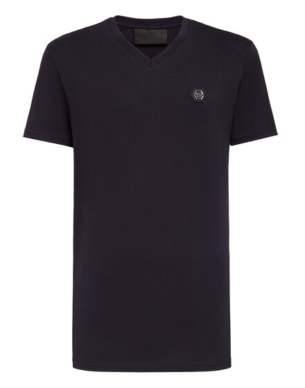T-shirt V-Neck SS King Plein