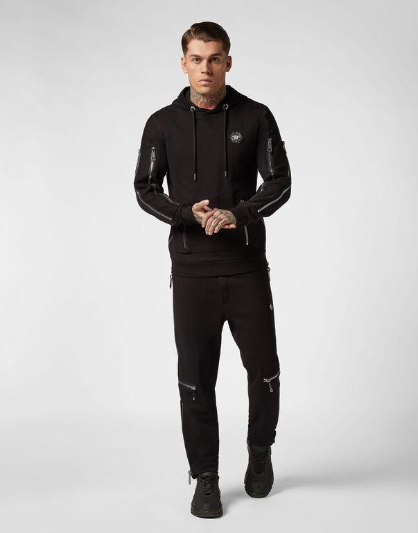 Jogging Trousers Zipped