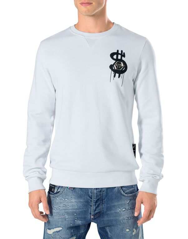 "Sweatshirt round neck LS ""Dollar fly"""