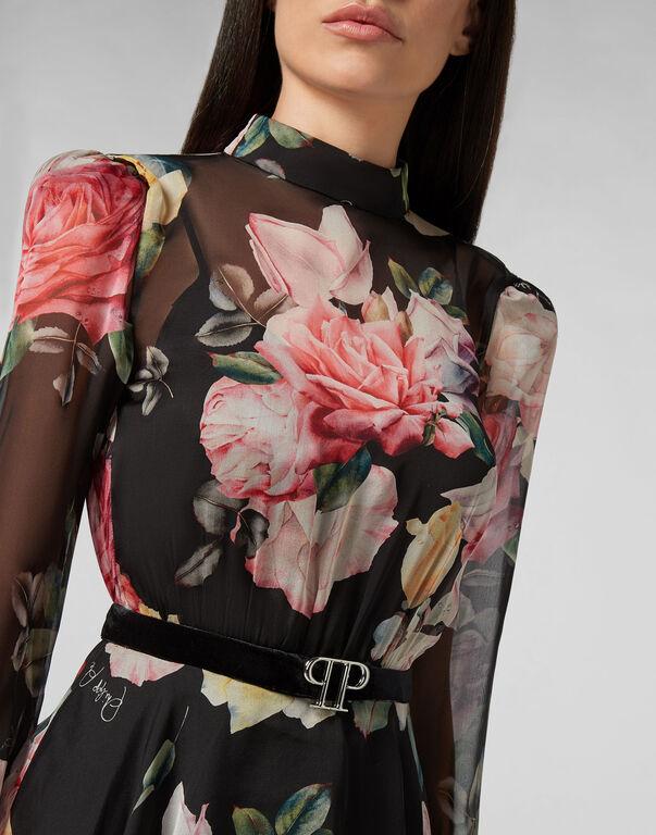 Short Dress Fyrial Flowers