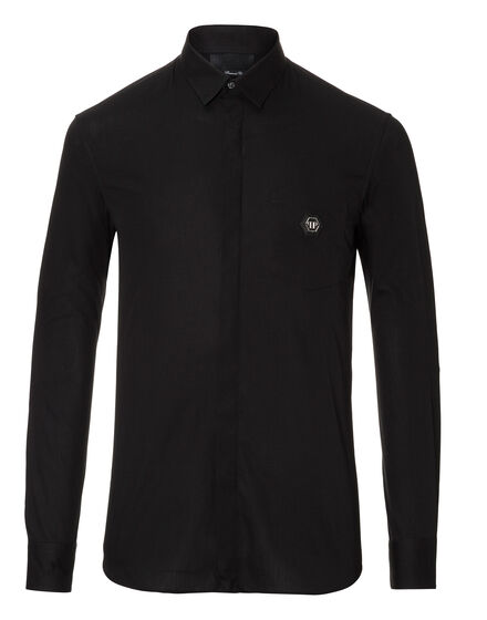 Shirt Diamond Cut LS Clark