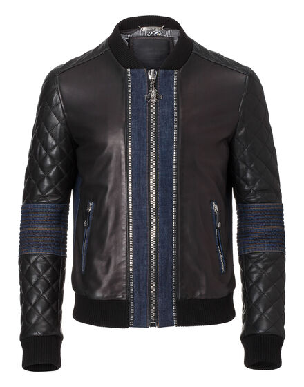 leather jacket baddeck