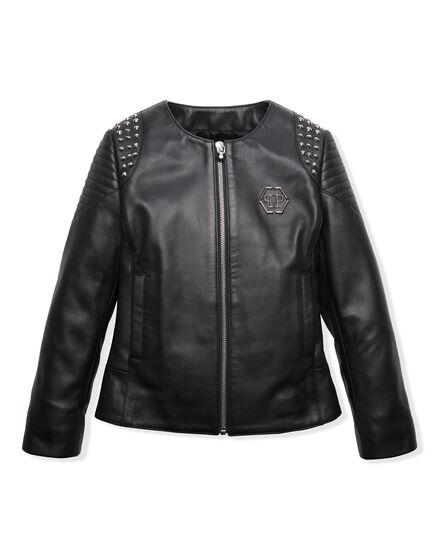 Leather Bolero Christal