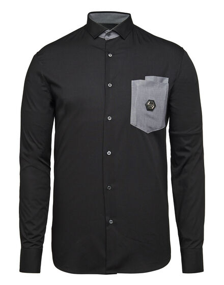 Shirt Diamond Cut LS Benson