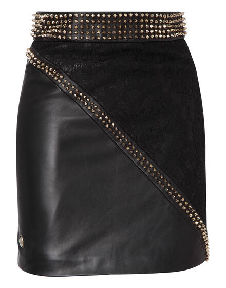 leather skirt let it be the night