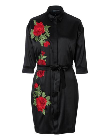 Short Dress Jade Whit