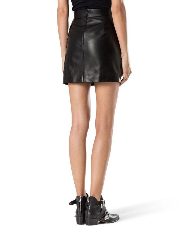 """leather skirt """"serafina"""""""