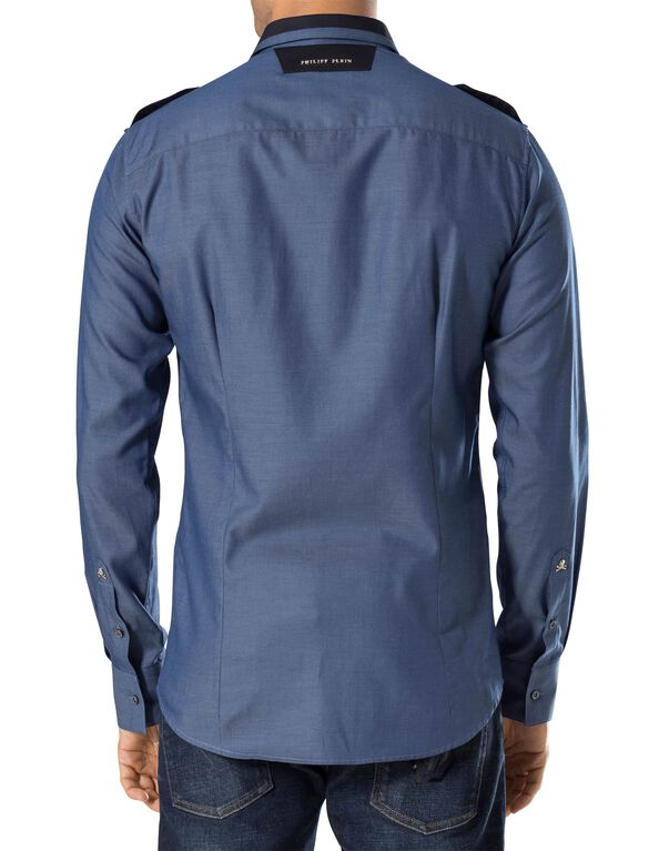 "Shirt Platinum Cut LS ""Dell"""