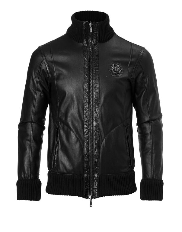 "Leather Jacket ""Sheldon"""