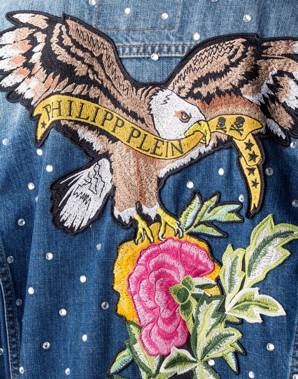 "Denim Jacket ""Skyline Angele"""