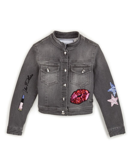 Denim jacket Orchid