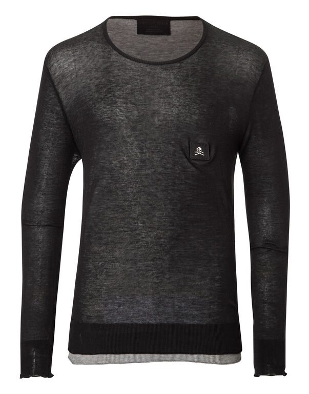 """Pullover Round Neck LS """"Say"""""""