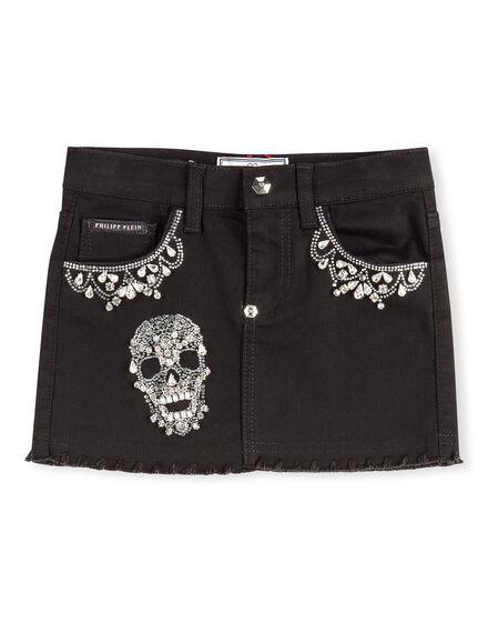 Short Skirt Girly Skull