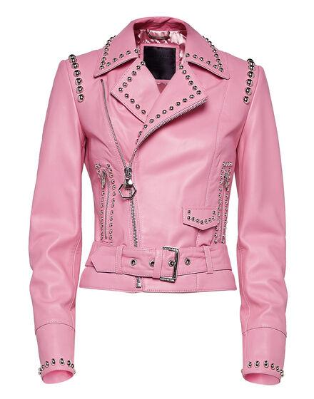 Leather Biker Brooke Estrada