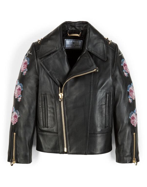 """leather jacket """"jasmine"""""""