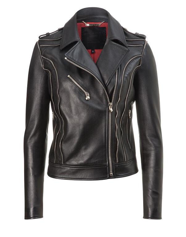 "leather biker ""jules"""