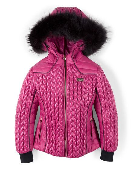 nylon jacket try it
