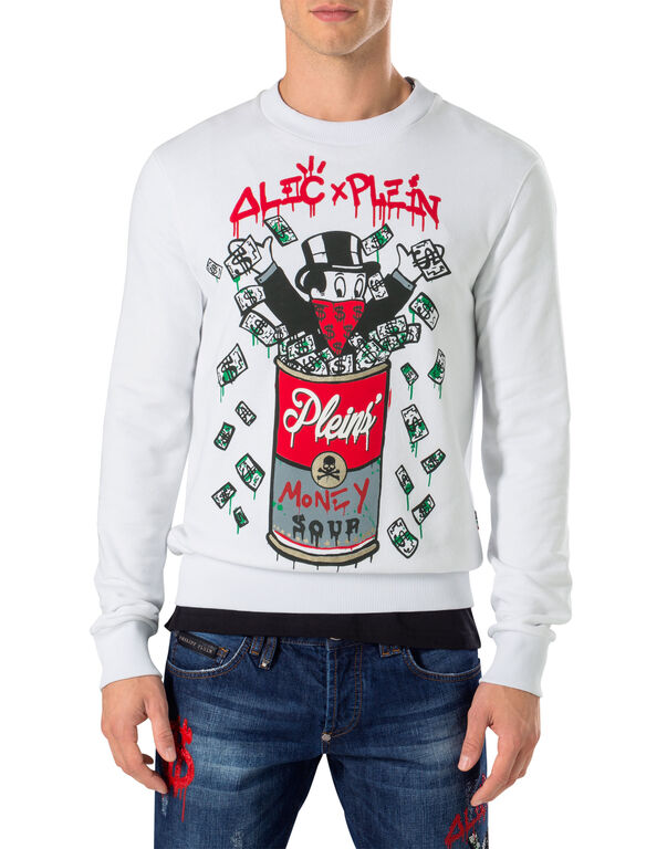 "Sweatshirt LS ""Alec`s money"""