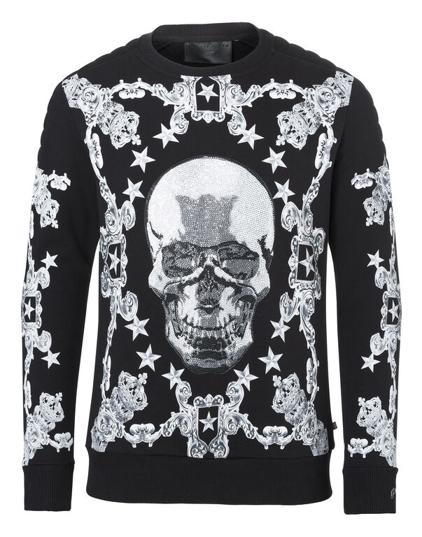 sweatshirt baroque philipp plein outlet. Black Bedroom Furniture Sets. Home Design Ideas