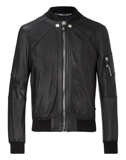Leather Bomber Proof