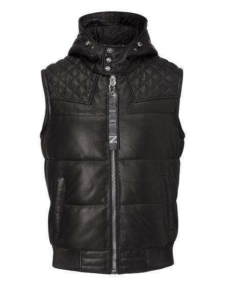 leather vest crime on crime