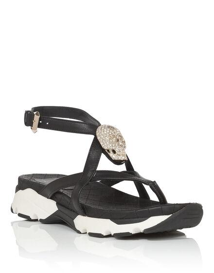 Sandals Wedges Madreperla