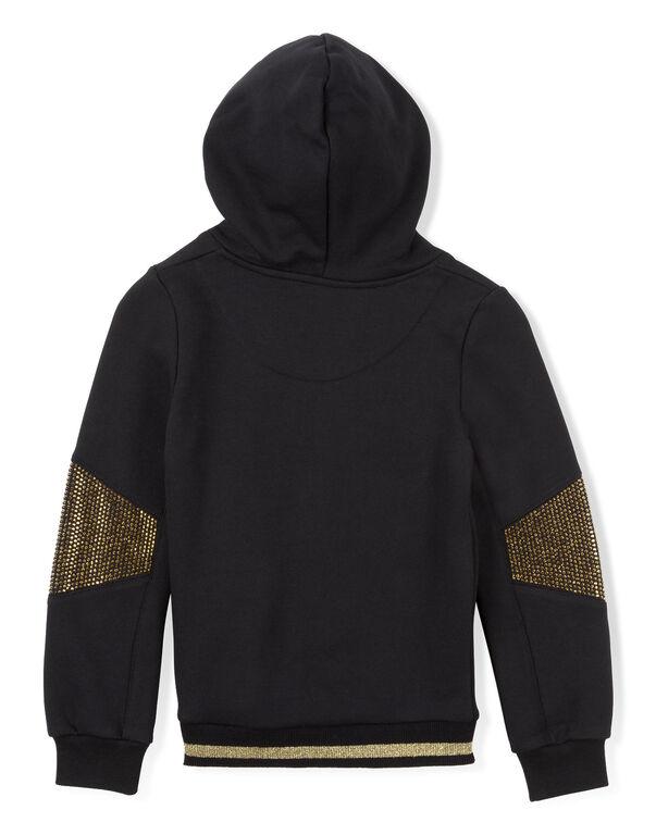 "sweat hoodie ""a bay bay"""