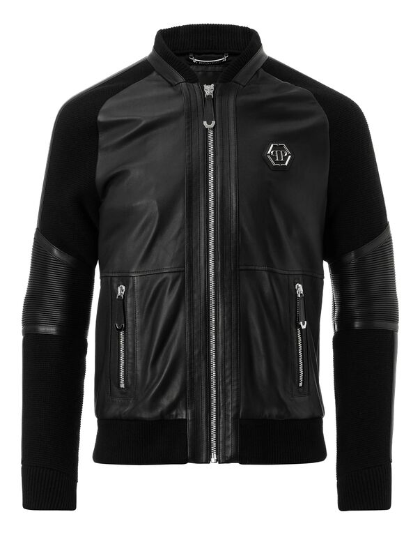 "Leather Bomber ""Why don`t you"""