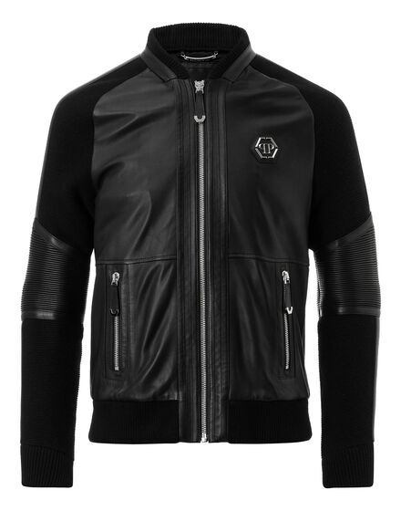 Leather Bomber Why don`t you