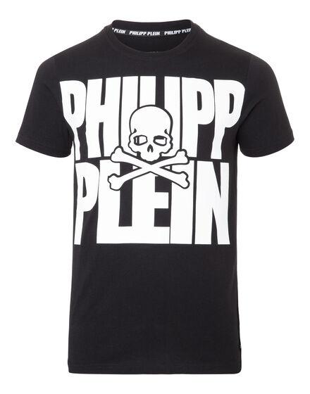 T-shirt Round Neck SS Black