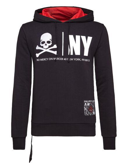 Hoodie sweatshirt MM Gothic Plein